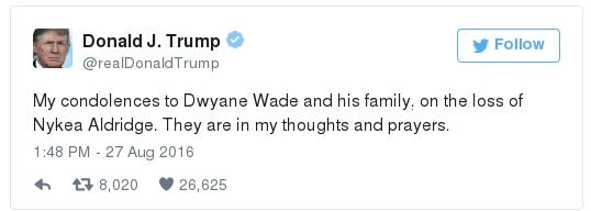 Trump on the death of Nykea Aldridge3