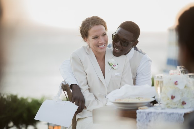 Jrue and Lauren on their wedding day8