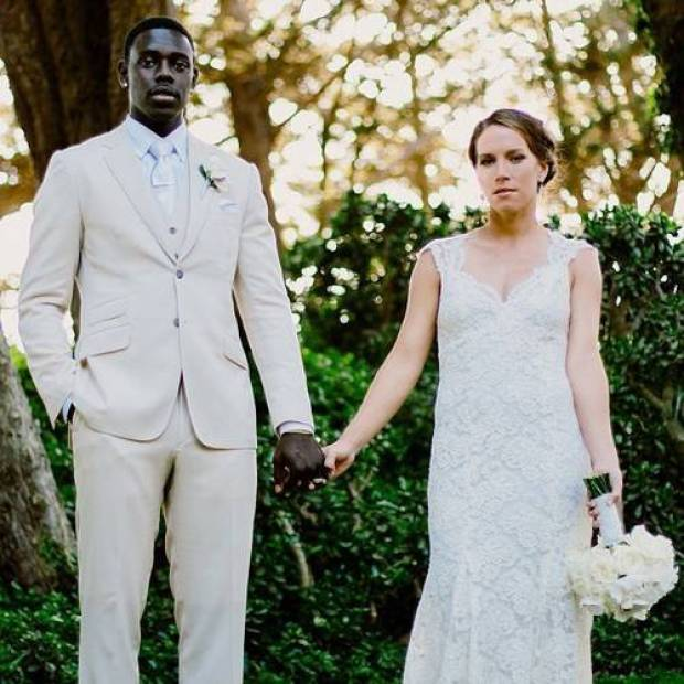 Jrue and Lorraine on their day1