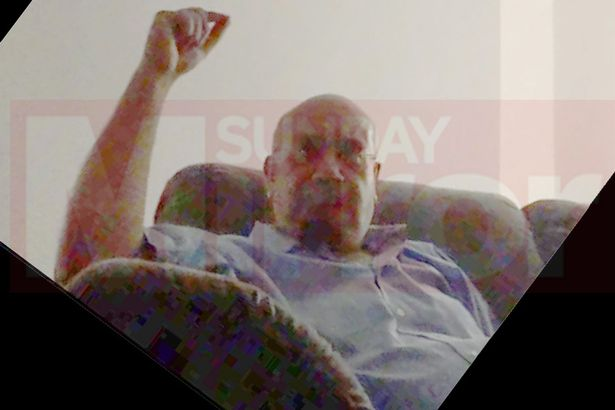 MP relaxes on sofa at one meeting at his pad2