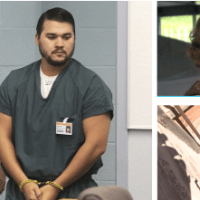 Ex-Marine Christopher Lee, confesses in court he murdered colleague's wife he had impregnated - he strangled Erin Corwin and threw the body down a mine shaft in a rage, because she 'admitted to molesting his daughter'