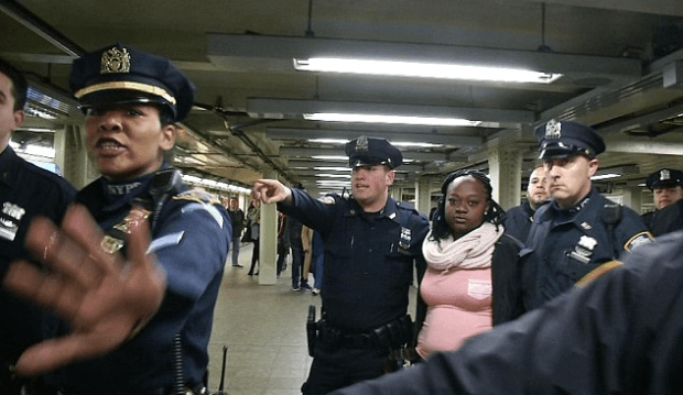nypd-arrest-perp-after-she-pushed-another-commuter-into-an-oncoming-train