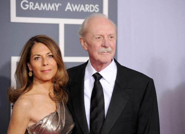 Co-founder and drummer of The Allman Brothers Band, Claude Hudson (Butch) Trucks and wife Melinda.jpg