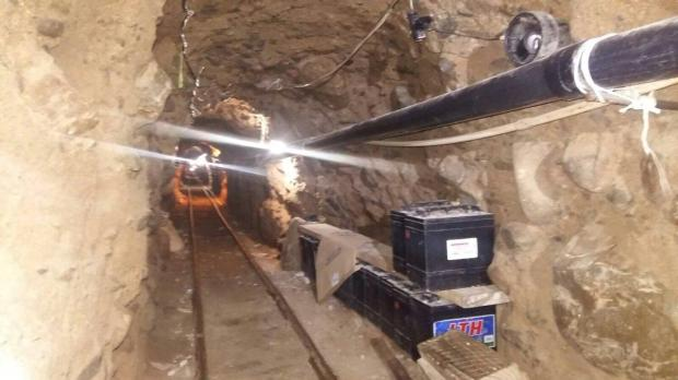 El Chapo made his escape from a mximum security Mexican prisin through this tunnel in mid-2015.jpg