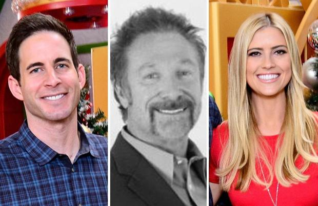 From left, Tarek El Moussa, former home contractor Gary Anderson and Christina El Moussa.jpg