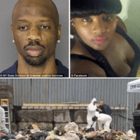 NY pimp Somorie Moses,'dismembered girlfriend Leondra Foster,' then forced sanitation worker to help him dispose of remaining body parts after he'd stashed head and feet in his freezer