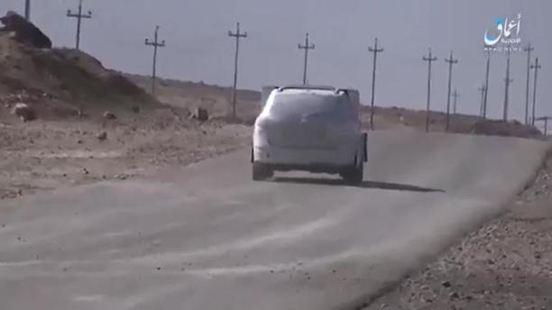 Jamal Al-Harith- An explosive-laden death car drives towards an Iraqi forces base in Mosul11.jpg
