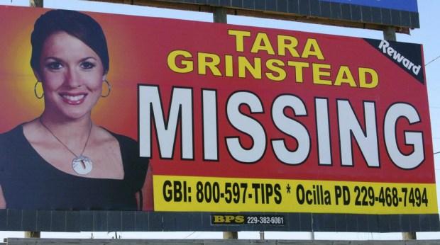 Missing person billboard for Ocilla teacherTara Grinstead.jpg