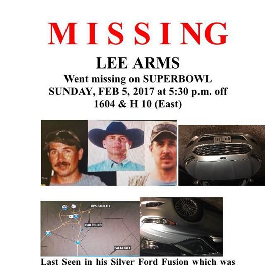 Missing person flyer issued for Lee Arms2.jpg