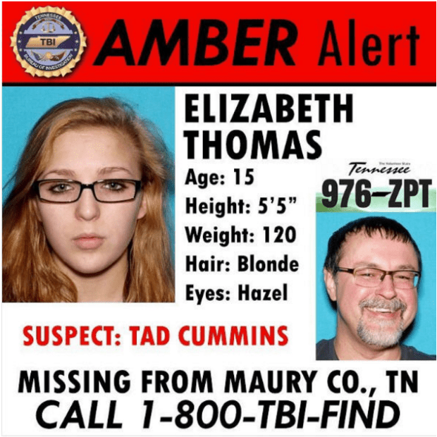 Amber alert for Elizabeth Thomas and Tad Cummins.png