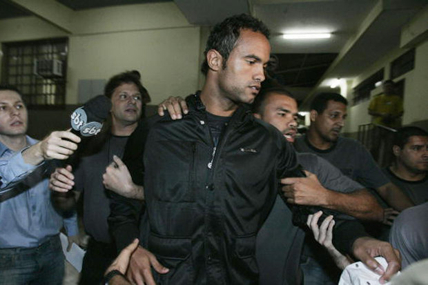 Bruno Fernandes de Souza served six of his 22-year sentence