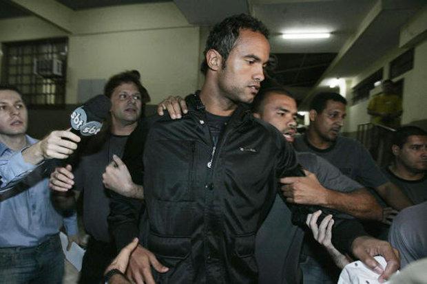 Bruno Fernandes de Souza served six of his 22-year sentence