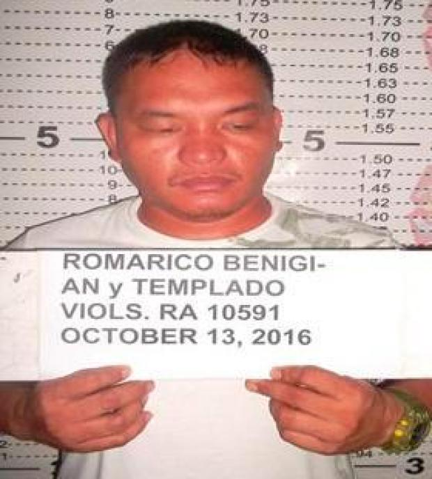 Gonzaga is now on the run with another suspect called Romarico Benigian1