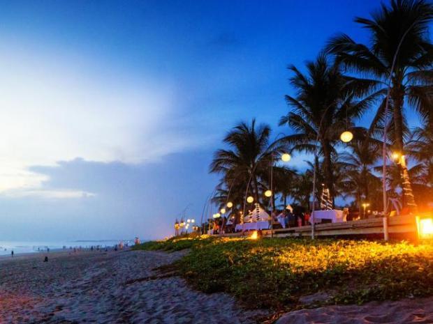Seminyak in Bali is a popular destination destination in Indonesia