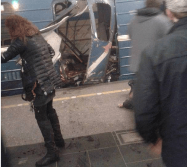Devastation, death and blood left behind with the debris after the explosion on the metro in St Petersburg  ripped through a train carriage causing carnage.png