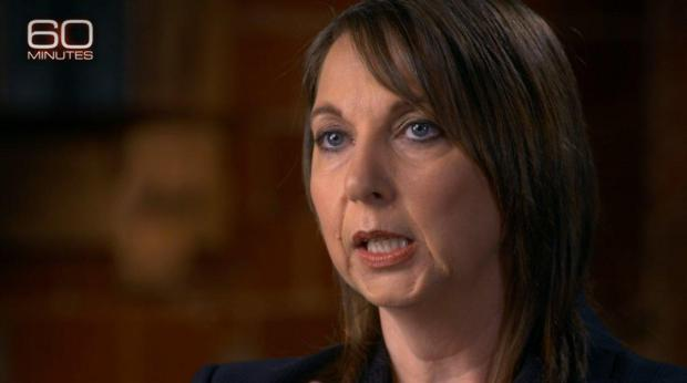 Officer Betty Shelby talks to CBS News on April 3