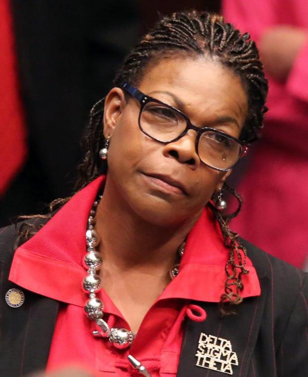 """Sen. Audrey Gibson was called a """"f----ng as----e"""" .JPG"""