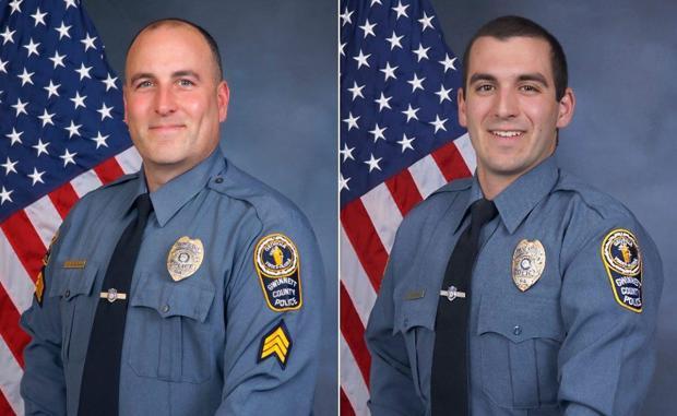 Sgt. Michael Bongiovanni (l.) and Master Police Officer Robert McDonald .jpg