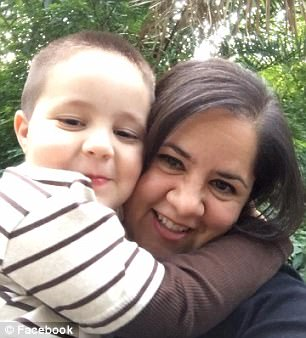 Aramazd Andressian Jr and mom Ana Estevez1.jpg