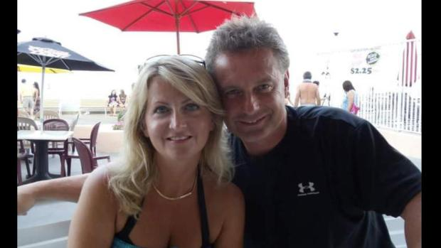Dina Markham with her husband, Officer Don Markham1