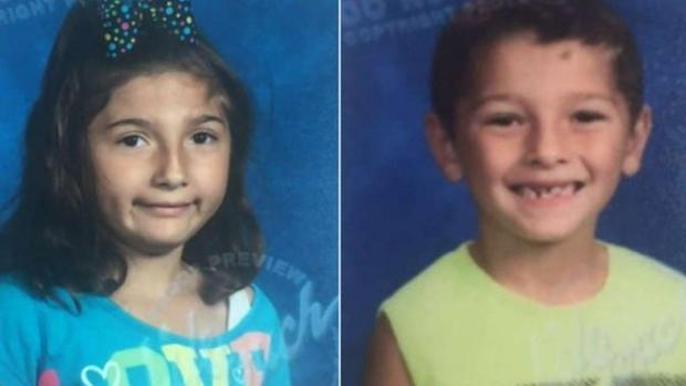 Liliana Hernandez, 7, and 6-year-old Rene Pasztor1