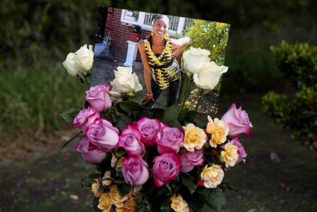 Memorial for Charleena Lyles, [photo at center]1.jpg