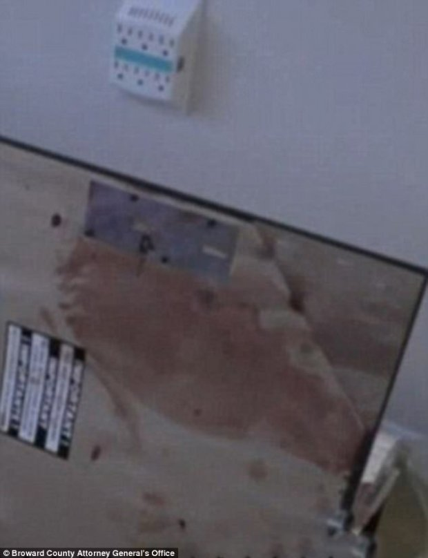 Bloodied home and closet where Fidel Lopez killed Mariah Nemeth 2
