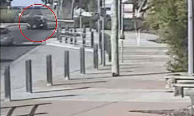 CCTV shows Karen Ristevski's car being driven through Digger's Rest, on the dayshe vanished 1