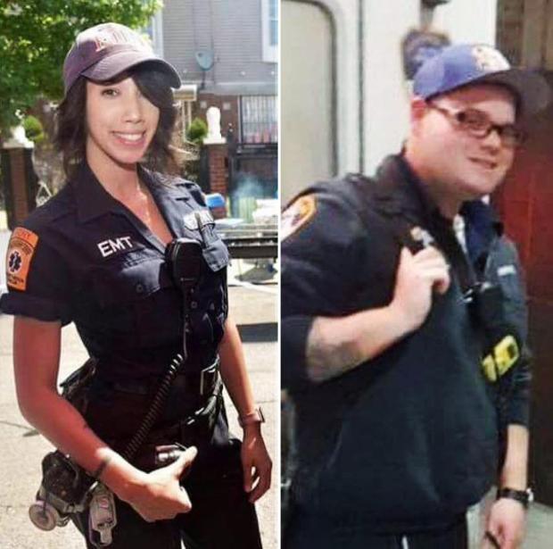EMS medic Arlene Garcia (l.) and FDNY EMT Charles Zimring.jpg