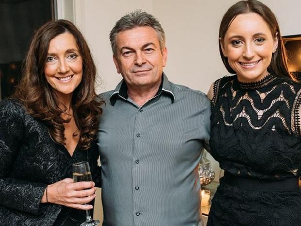 Karen Ristevski with her husband Borce and daughter Sarah 1.jpg
