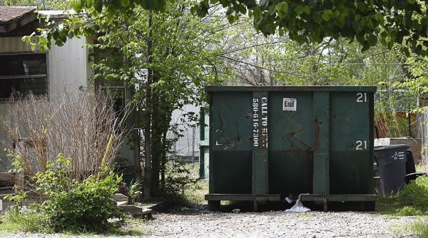 Remains of Juanita Green's baby was found inside a wooden box in the dumpster and was wrapped in a blanket and plastic bag on April 9.jpg