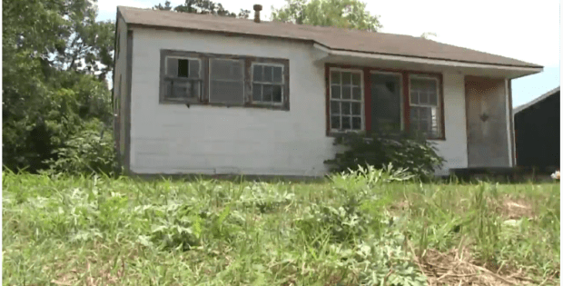 Shavon Le'Feye Randle's body was found in this shed