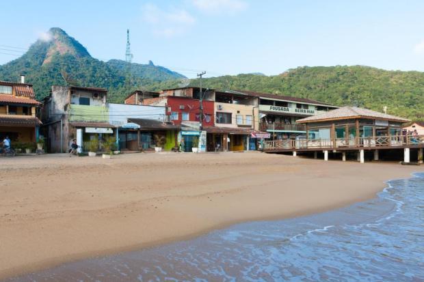 Angra Dos Reis bay, near Rio