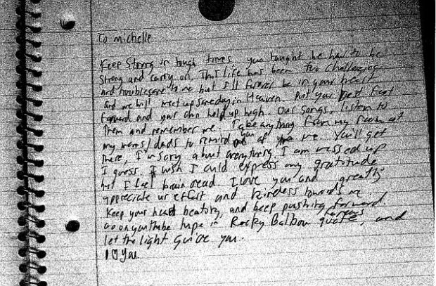 Conrad Roy's suicide note addressed to Michelle Carter .jpg