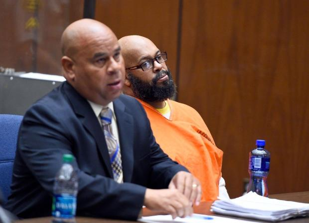 Defense attorney Matt Fletcher (l.) and Suge Knight [right] 1.jpg