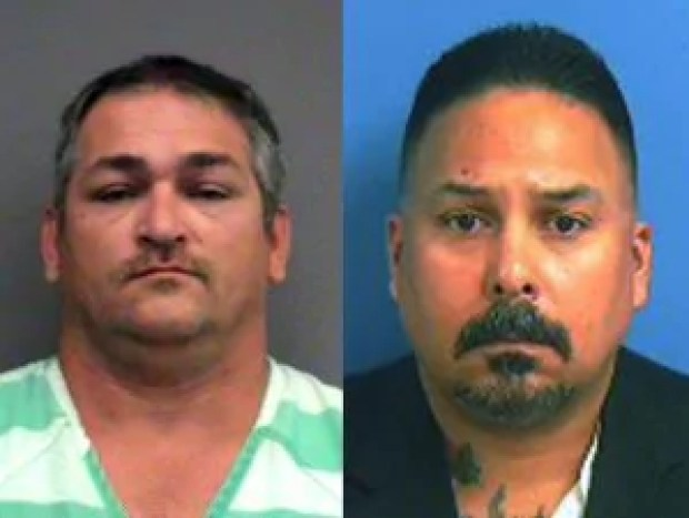 Ex-prison guards and KKK members Charles Thomas Newcomb and David Elliot Moran 1