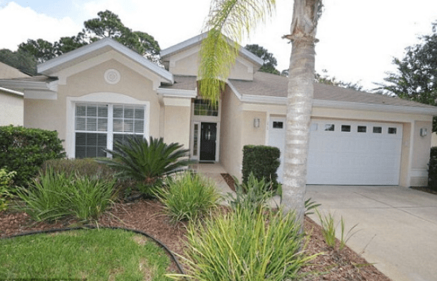 The O'Brien home in Palm Coast