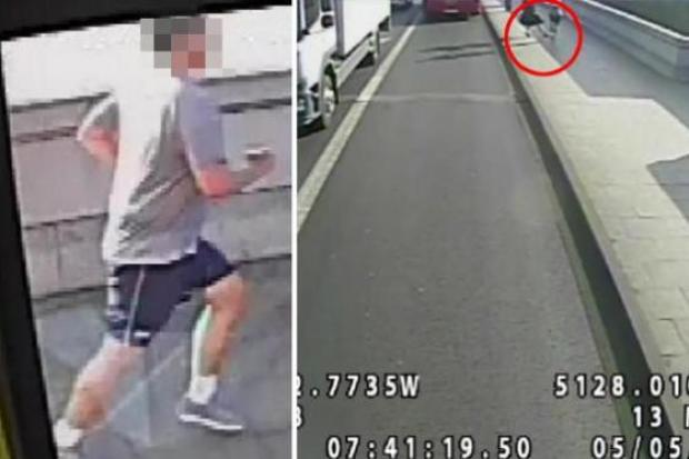 The police released the surveillance video earlier this week 3