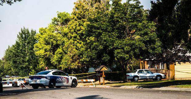 Tiffanie Pierce and Augustus Standingrock street blocked off 1.jpg