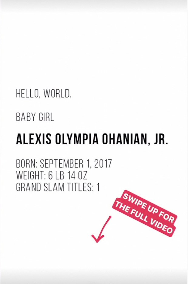 Serena Williams Introduces Daughter Alexis Olympia Ohanian Jr 4.jpg