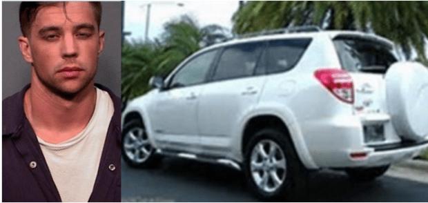 Charlie Malzahn was seen driving Gorospe's RAV 4 after her disappearance.png