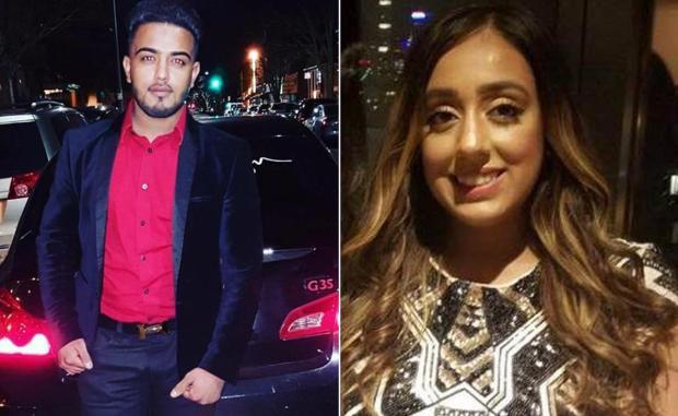 Saeed Ahmad [left] left his passenger, Harleen Grewal 1