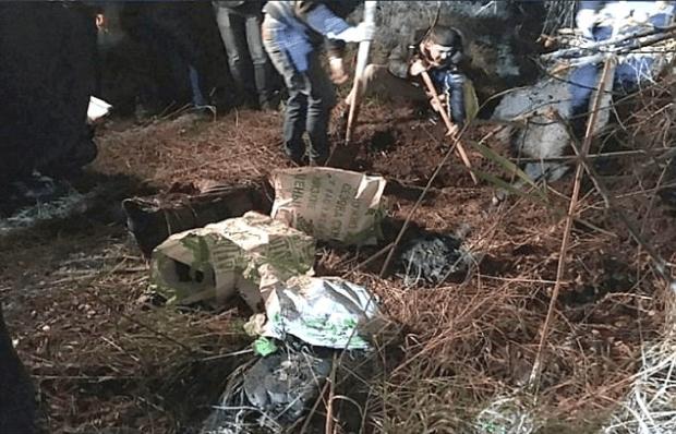 The remains of Daria Labutina and Olga Shaposhnikovawere found the bags