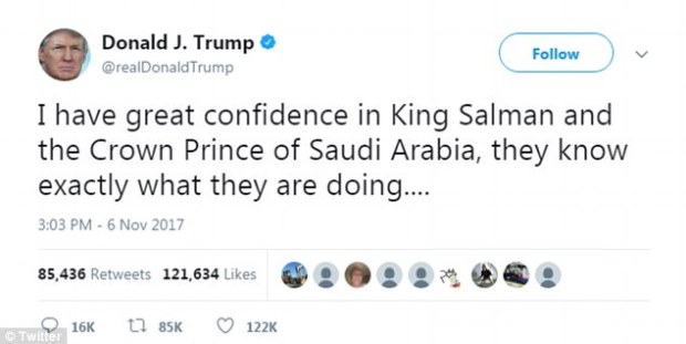 Donald Trump supports Saudi crown prince 1.jpg