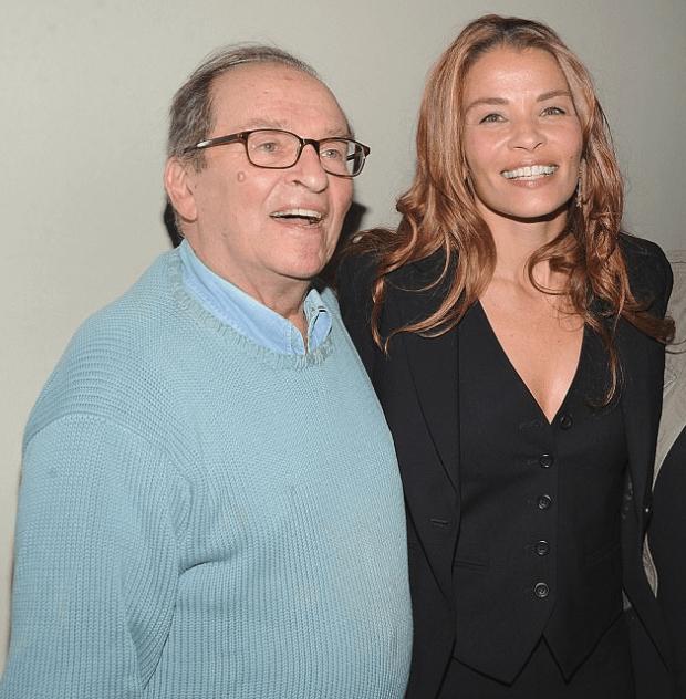 Jenny Lumet, and her movie director dad Sidney Lummet 2