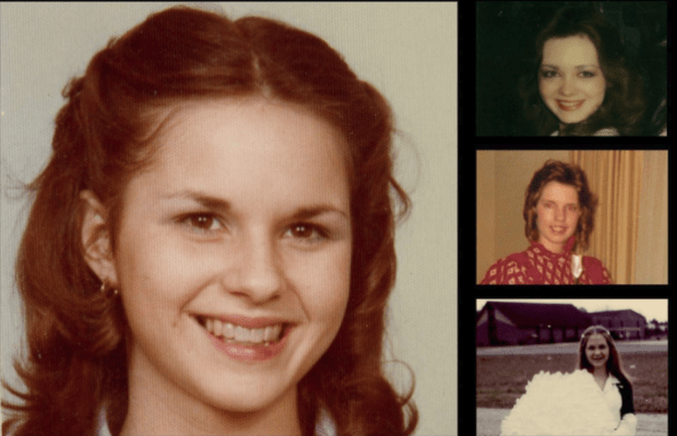 Leigh Corfman, left, in a photo from 1979, when she was about 14. At right, from top, Wendy Miller, Debbie Wesson Gibson, and Gloria Thacker Deason.png