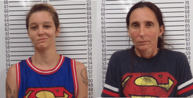Misty Spann and and her motherPatricia Spann, both charged with incest 2.png