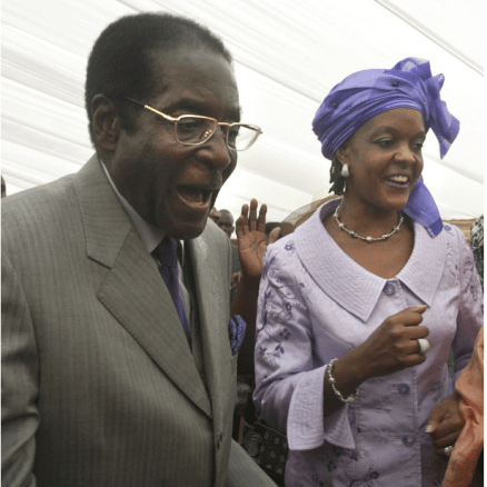 Robert and Grace Mugabe 6