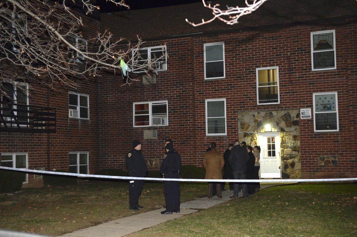 Bridget Shenk was found dead in her second-floor apartment on Trantor Place near Walker St. in Port Richmond..jpg