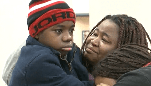 Gregory Jean Jr is reunited with his mom 3.png